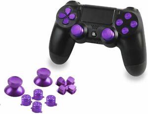 PS4 Controller Aluminium Tasten Bullet Buttons Alu Thumbstick & DPad Modding Set