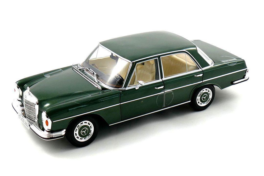 NOREV 1968 MERCEDES BENZ 280 SE SEDAN (W108) Green 1 18 New Item