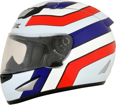 AFX 0101-9612 FX95 Full-Face Helmet Vintage Honda Graphics 2XL Red