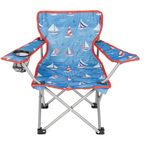 Kids Children Chair Folding Camping Hiking Picnic Garden Fishing Collapsible