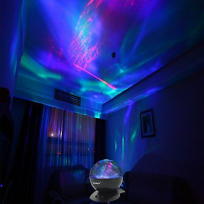 Psychedelic Lamp Light Aurora Borealis Projector Decorative Relaxing Trippy Ebay