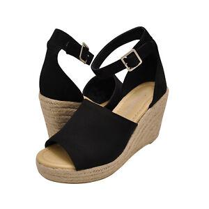 722ebe59c Women's Shoes City Classified JOY Platform Wedge Espadrille Sandals ...