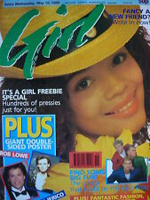 GIRL MAGAZINE 10/5/89 - JON BON JOVI - BIG FUN - PATRICK SWAYZE