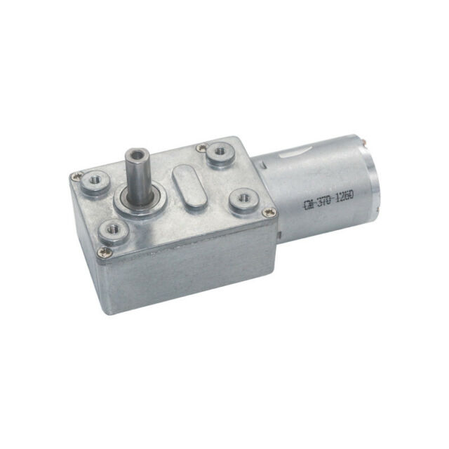 Schneckengetriebemotor DC6V 12V 24V 2RPM bis 375RPM Hoher Drehmoment-Geschwindi