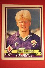 Panini calciatori 1992/93 1992 1993 116 FIORENTINA EFFENBERG CON VELINA
