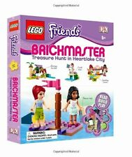 LEGO Brickmaster Treasure Hunt in Heartlake City by DK with mini-figure NEW