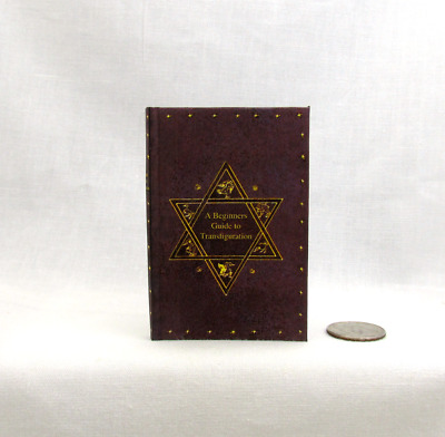 A BEGINNERS GUIDE TO TRANSFIGURATION 1:6 Scale Readable Miniature Book Potter