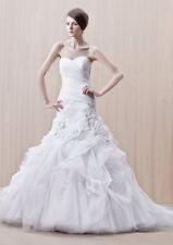 Enzoani Gilda Wedding Dress UK14 Ivory Tulle