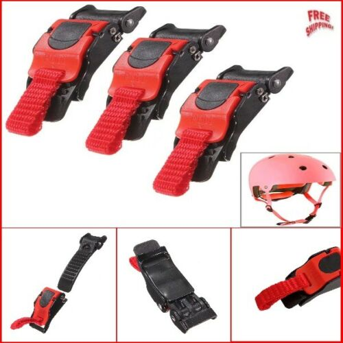 Heavy Duty Pro Helmet Strap Quick Release Buckle Kit Easy to install 3 Pack