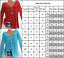 Womens-Long-Sleeve-Boho-Blouse-V-Neck-Casual-T-Shirt-Loose-Tops-Plus-Size-Tee thumbnail 4