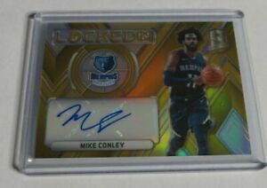 MIKE-CONLEY-2017-18-PANINI-SPECTRA-LOCKED-IN-GOLD-AUTOGRAPH-5-10