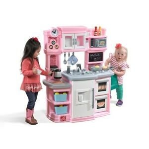 Details about Step2 Great Gourmet Kitchen Light Pink - Kids Play Kitchen