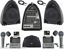 PA System portable Peavey PVi. Compact sound system, small band, karaoke system