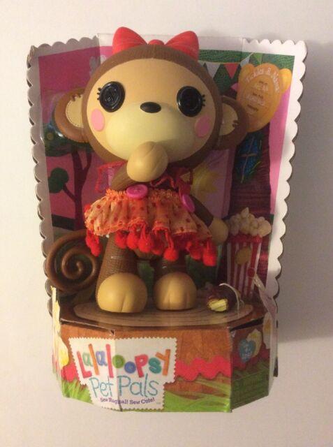 Nana Monkey Doll NIB Lalaloopsy Pet Pals Tickles B