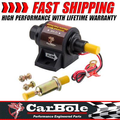 Top Electric Gasoline Fuel Pump 5//16Inch 42 GPH 2-3.5 PSI 12V 1-2A 2 Wire Design