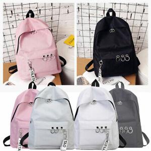 Fashion-Women-Canvas-School-Bag-Girls-Backpack-Travel-Rucksack-Shoulder-Bags