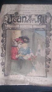 Rivista Jeans Che Rit N° 353 1907 Giornale Illustre che Appaiono Il Venerdì ABE