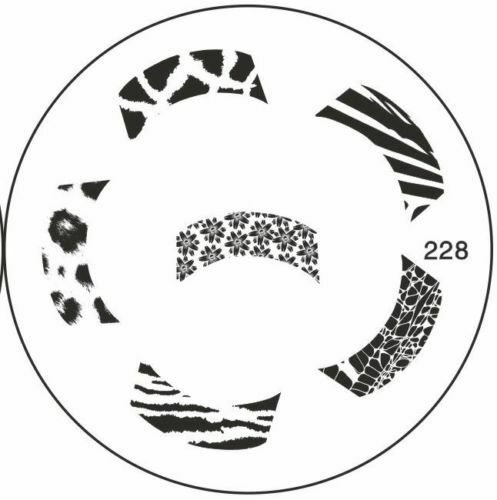 MoYou Nails Image Plate 228 Nail Art Stamping Template Stencil Manicure design
