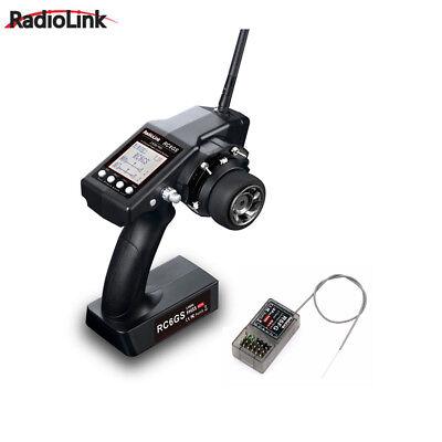 Radiolink RC4GS V2 2.4G 4 Channels RC Radio Transmitter and Receiver R6FG Gyro Set for Crawler Truck Car Boat