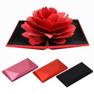 Flick-Open-Rose-Ring-Box-Lightweight-Display-Engagement-Proposal-Embossing-Paper