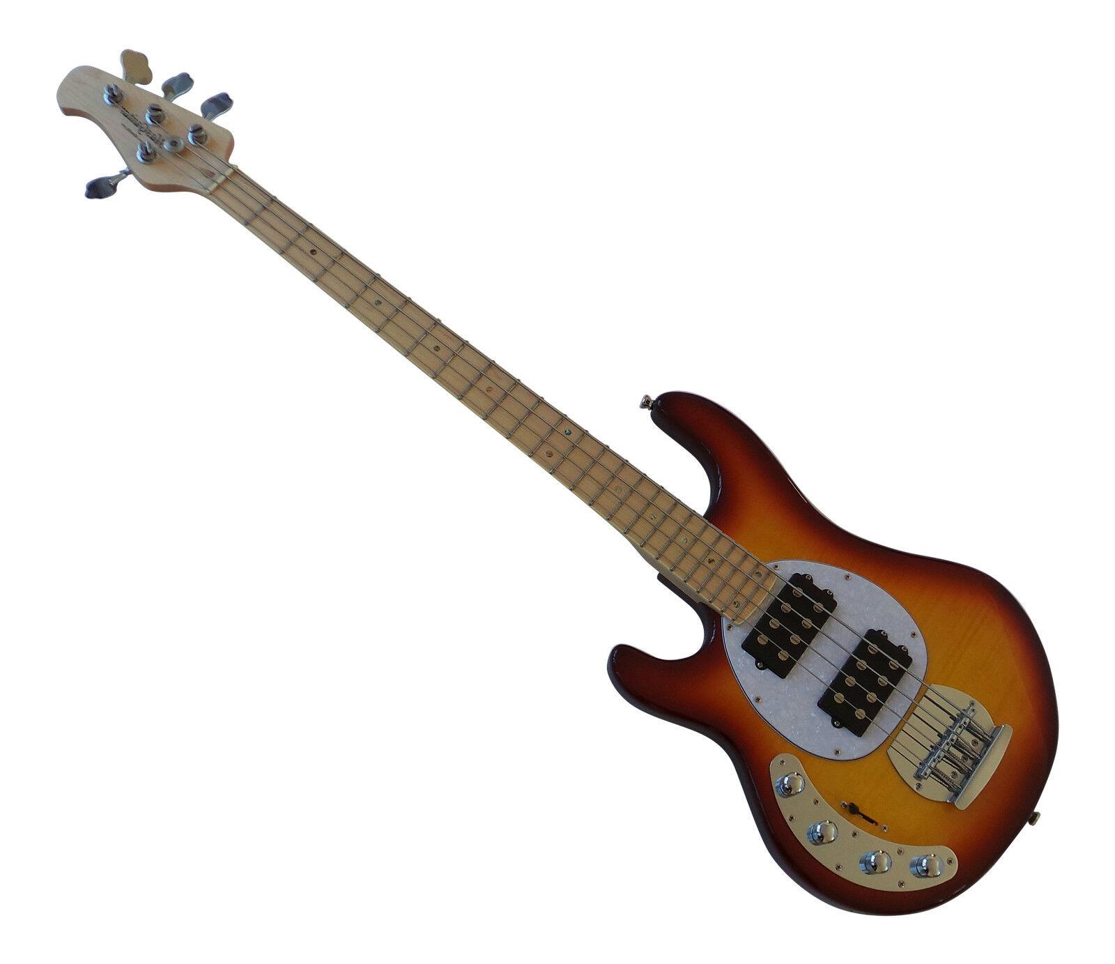 Lefty Stingris Bajo Guitarra Zurdo Humbucker Activo Doble Bobina Nuevo Nuevo Nuevo Rino 88  en venta en línea