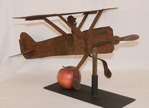 1920s Sheet Metal Airplane Weathervane Ebay