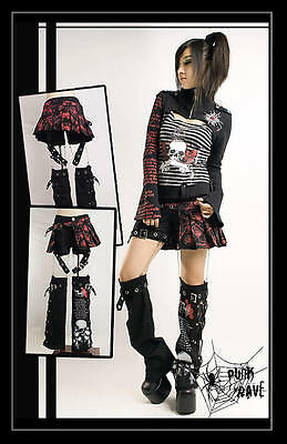 New PUNK RAVE Gothic Set 3 in 1 K-097 ALL STOCK IN AUSTRALIA! Fast Shipping!