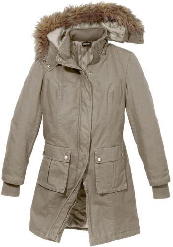 Modischer Mantel mit attraktiven Details in Sand 44 Gr K164-961842