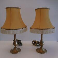 Lampes de chevet en bronze bedside lamps design XXème