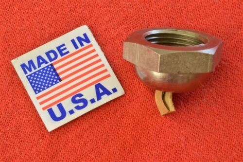 "1268-24 HARLEY JD CARBURETOR BOWL LOCK NUT 1924-1929 61/"" /& 74/"" TWINS"