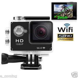 170 ° Full HD Wifi SJ4000 1080P Car Cam Sports Camera DV Action Waterproof Black