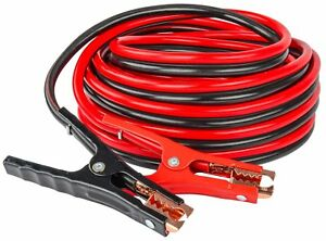 JEGS-Premium-Booster-Cable-4-Gauge-25-ft-Emergency-Car-Battery-Jumper-81964