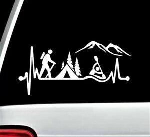 Hiking Couple No Wifi Needed Hiker Decal Sticker for Car Window BG ...