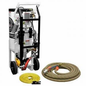 Details about HEAVY DUTY 3 5 CUFT SODA BLASTER SYSTEM FOR MOLD, FIRE  DAMAGE, GRAFFITI, POOLS