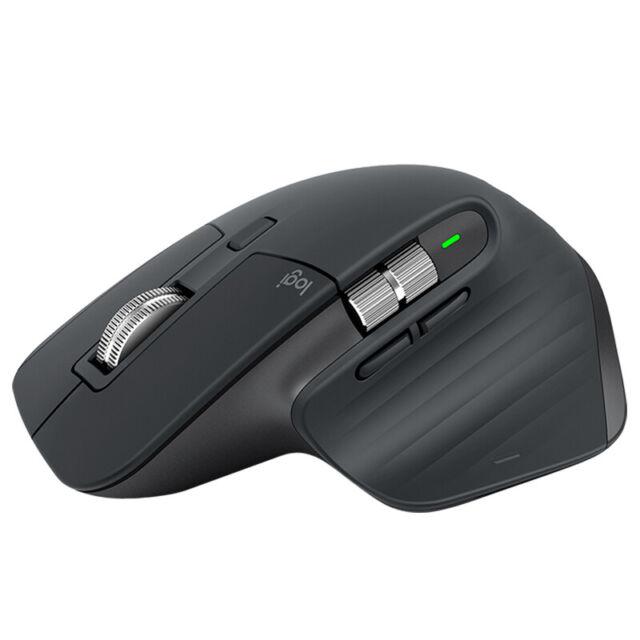 Logitech MX Master 3 with precision scrolling, ergonomic design for hand comfort