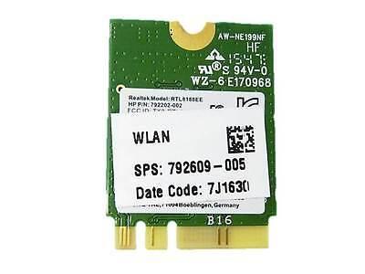 HP Pavilion 17-G 17-G121WM WIFI Wireless card P//N 792609-001 792202-001