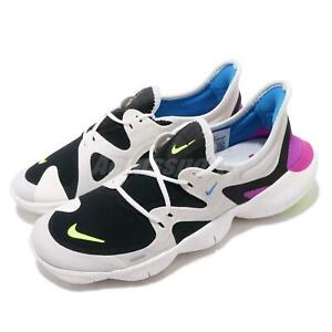 online store 73aba d51ef Image is loading Nike-Free-RN-5-0-White-Black-VOlt-