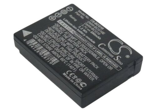 Li-ion batería para Panasonic Lumix dmc-zs3r Lumix Dmc-tz8 Lumix dmc-tz8eg-s Nuevo