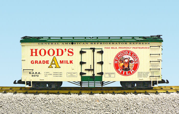 USA Trains G Scale R16489 Hoods Milk Assorted road  's CHOICE NEW RELEASE