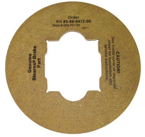 Stearns Brake Friction Disc Replacement # 5-66-8472-00 8-004-701-00