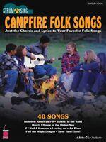 Hal Leonard Campfire Folk Songs Easy Guitar Sheet Music