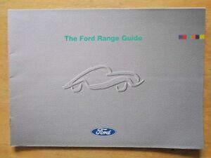 FORD-RANGE-1994-UK-Mkt-Brochure-Fiesta-RS-1800-Escort-RS-Cosworth-Probe-Scorpio