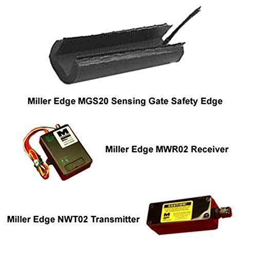 Miller Edge MGS20 Sensing Gate Safety Edge Kit Including Transmitter /& Receiver