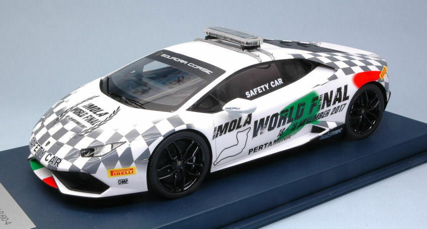 Lamborghini Huracan LP610-4 Safety Car Imola 2017 1:18 Model LOOKSMART