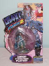 "Heavy Metal Fakk 2 Lambert 4"" Action Figure Playset. Kaiyodo. 1999"