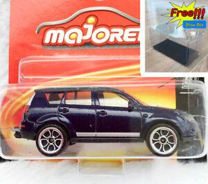 Majorette-Mitsubishi-Outlander-Blue-SUV-1-64-292G-Short-Package-Free-Display-Box