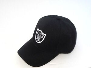 Oakland-Raiders-Hat-Cap-Black-Classic-Style-One-Size-New