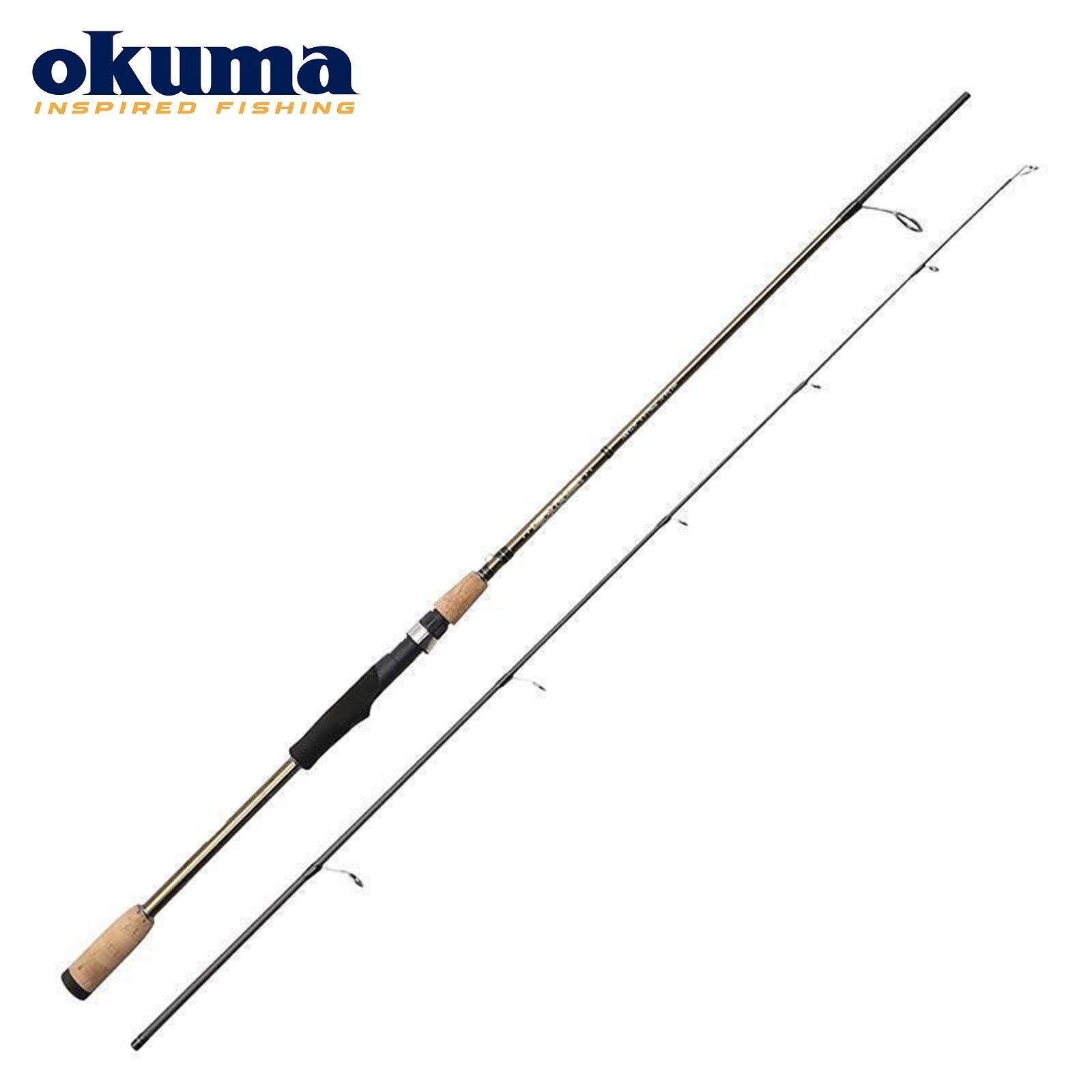 OKUMA DEAD RINGER Pesca Spinning Rod 2.10 M  3.03 M Varie Taglie