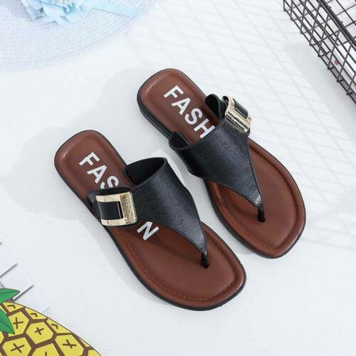 Clip Toe For Women Slippers Slippers Trendy Quality Fashion Brief Style Beach JA