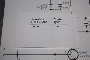 Details about LG Main Board Repair Kit 42LW5600 47LW5600 55LW5600 42LV5400  47LV5400 47LW6500